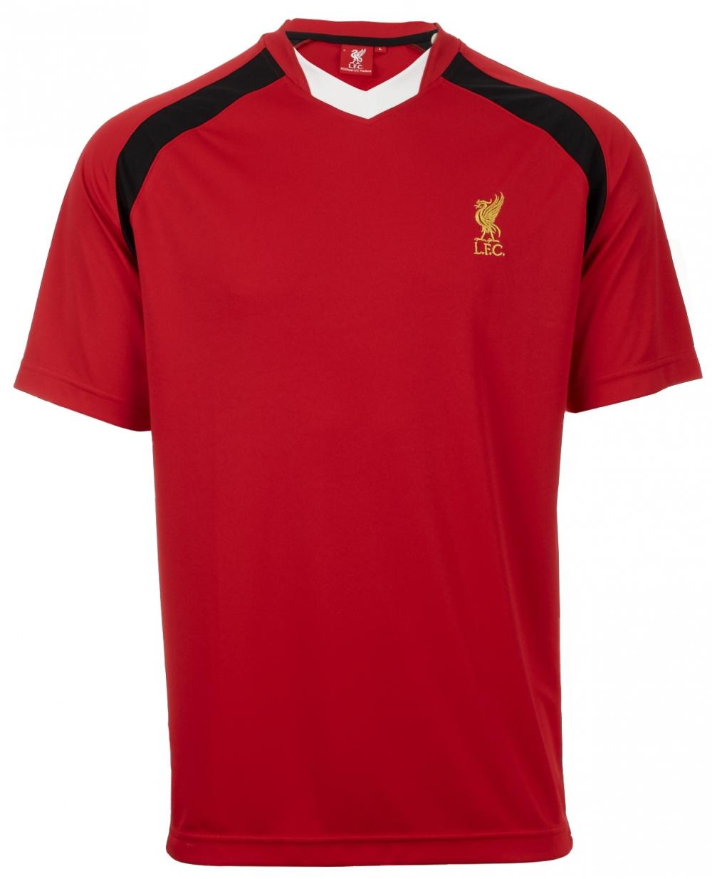 Liverpool T-shirt V-ringad Röd S