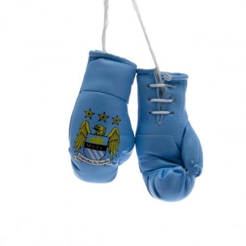 Manchester City Boxningshandskar Mini