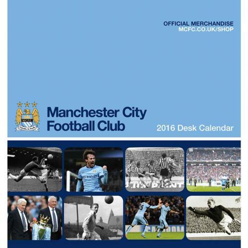 Manchester City Skrivbordskalender 2016