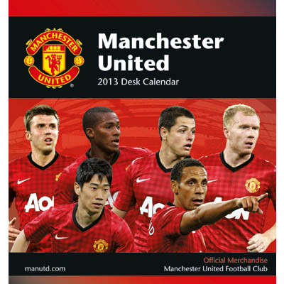 Manchester United Skrivbordskalender 2013