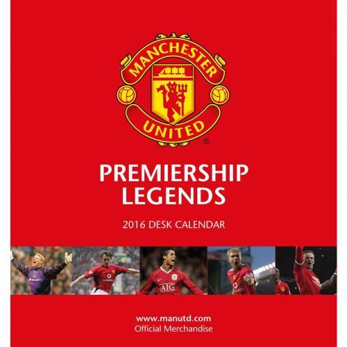 Manchester United Skrivbordskalender 2016