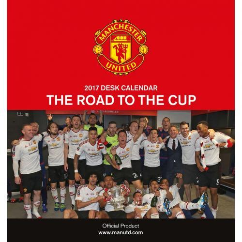 Manchester United Skrivbordskalender 2017