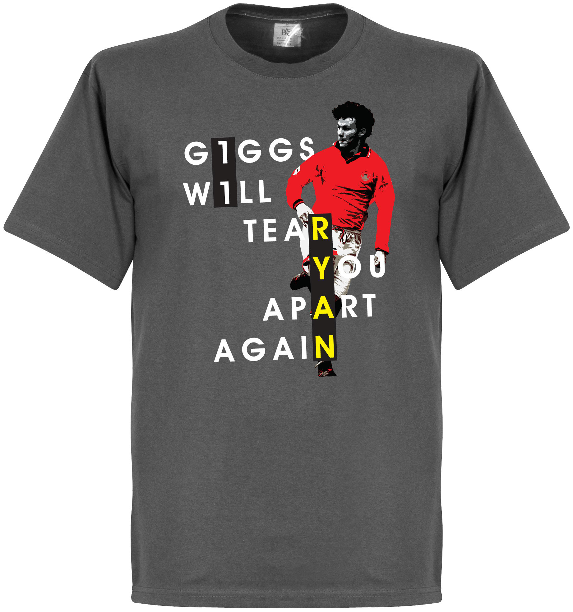 Manchester United T shirt Giggs Will Tear You Apart Ryan