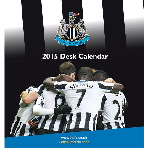 Newcastle United Kalender Skrivbord 2015