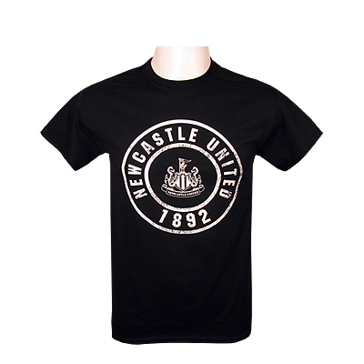 Newcastle United T-shirt Ungdom Circle LB (75-80 cm)