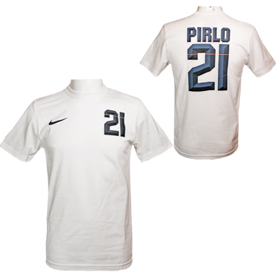 Pirlo T-shirt Hero Vit S