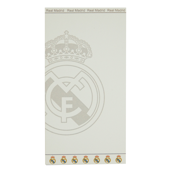 Real Madrid Badlakan Jacquard Vit White
