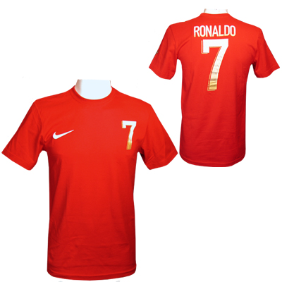 Ronaldo T-shirt Hero Röd S
