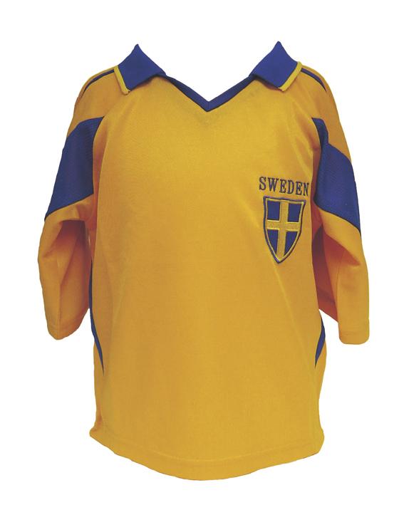 Sverige Fotbollströja Barn 10 år