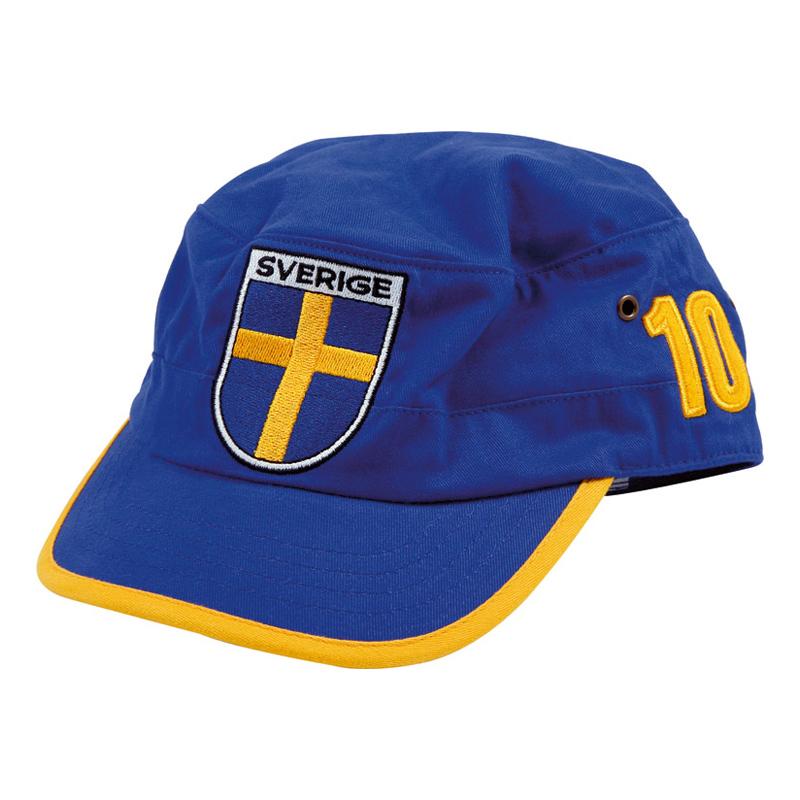 Sverige Keps Blågul 10