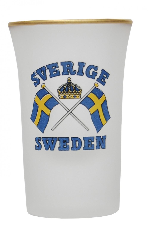 Sverige Shotglas