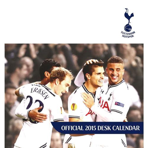 Tottenham Hotspur Skrivbordskalender 2015