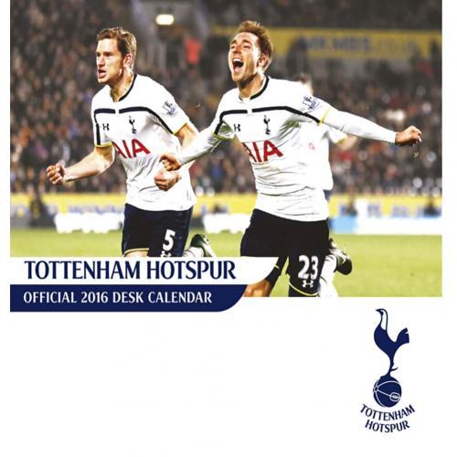Tottenham Skrivbordskalender 2016