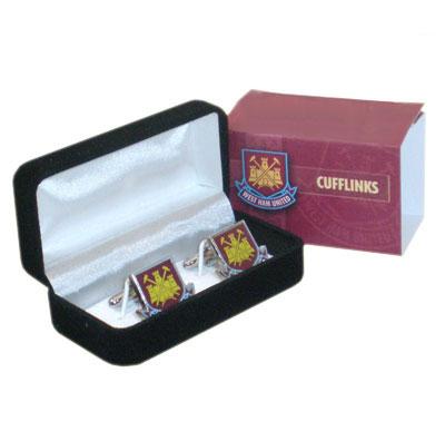 West Ham United manschettknappar Crest
